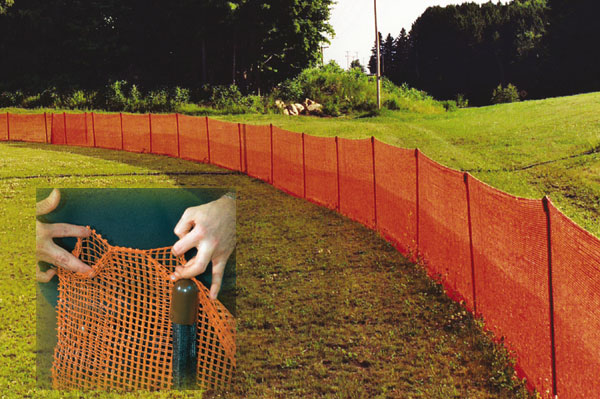 Pocket Net Fence 4x150 Orange